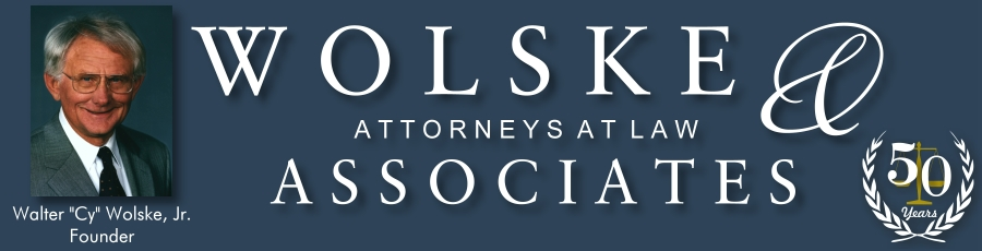 Wolske Law Webpage Top Logo